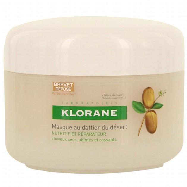 Klorane Masque Au Dattier, Μάσκα Μαλλιών Με Χουρμά για Ξηρά Μαλλιά 150ml