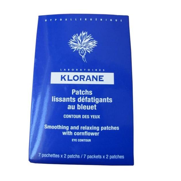 Klorane Patchs Lissants Defatigants au Bleuet 7 Τεμάχια