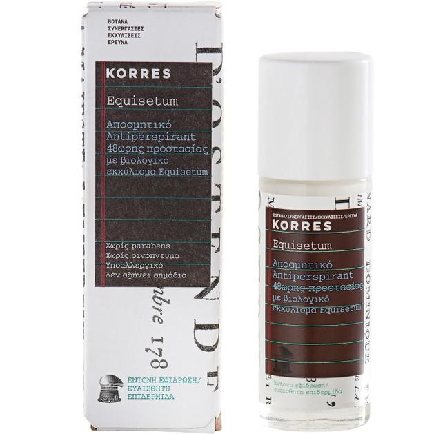 Korres Antiperspirant 48ωρης Προστασίας 30ml