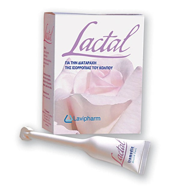 Lactal Vaginal Gel η Φυσιολογική Επιλογή για τη Ρύθμιση του Γυναικείου Κολπικού pH, 7x5ml