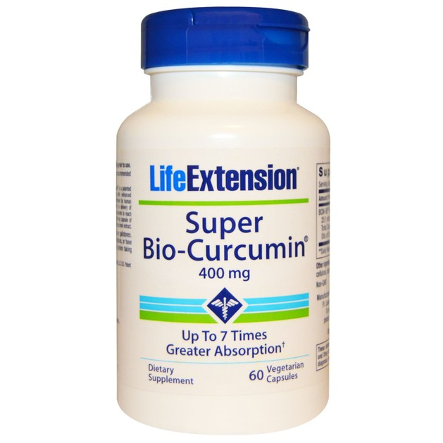 Life Extension Super Bio-Curcumin 400mg Συμπλήρωμα Διατροφής με Κουρκουμίνη 60caps