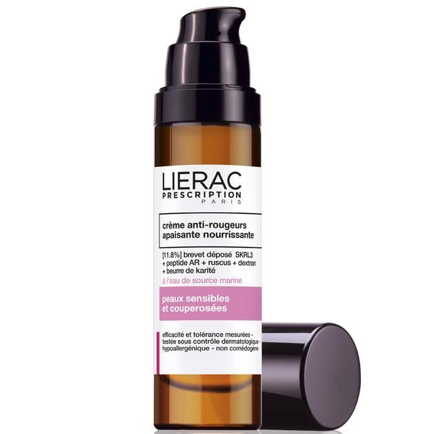 Lierac Prescription Creme Anti-Rougeurs Κατευναστική Και Θρεπτική Κρέμα Κατά Των Κοκκινίλων