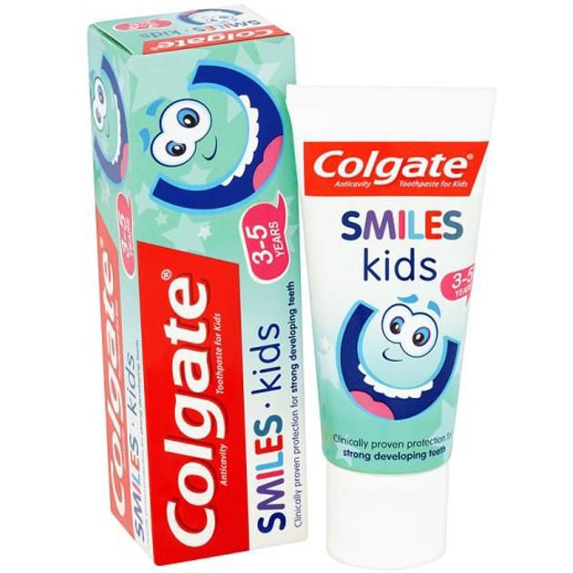 Colgate Smiles Junior Παιδική Οδοντόκρεμα Κατά της Τερηδόνας 6+ Ετών 50ml