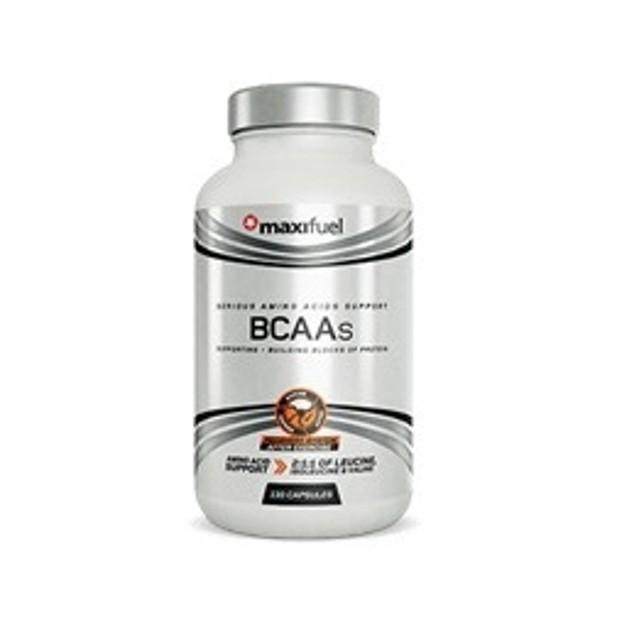Maximuscle MAXI BCAA Αμινοξέα για μυϊκή επούλωση 130caps