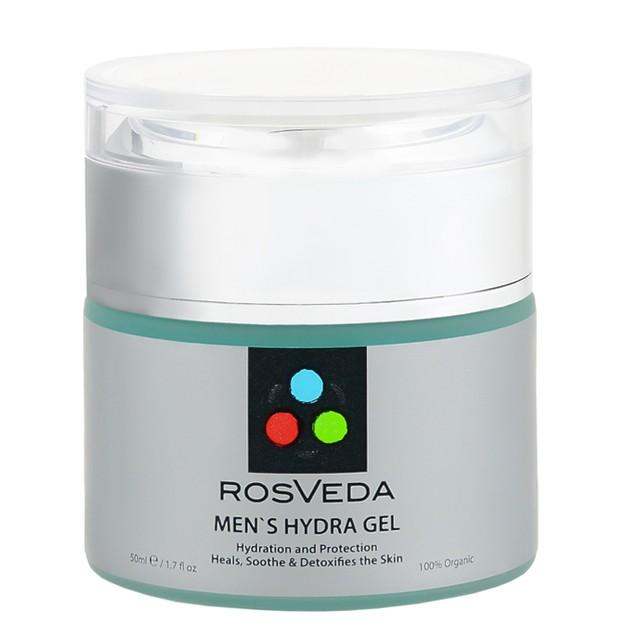 RosVeda Men\'s Hydra Gel 100% Φυτική Σύνθεση για Ενυδάτωση & Καταπράυνση της Ευαίσθητης Αντρικής Επιδερμίδας 50ml