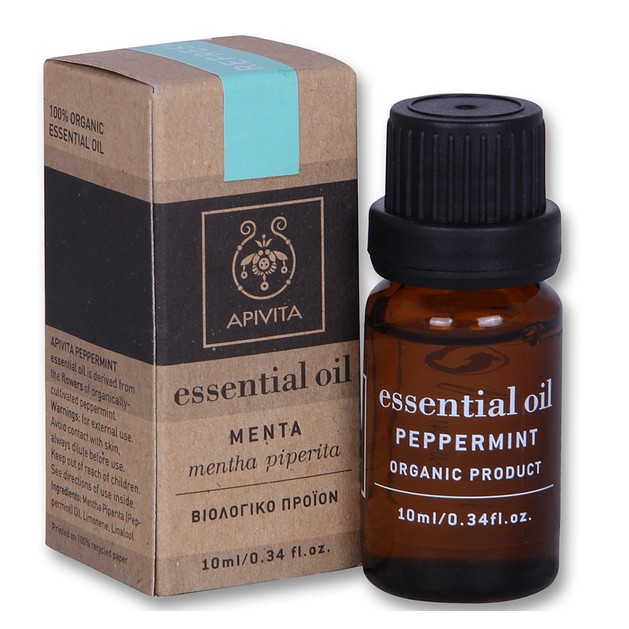 Apivita Essential Oil Μenta-Peppermint Μέντα 10ml