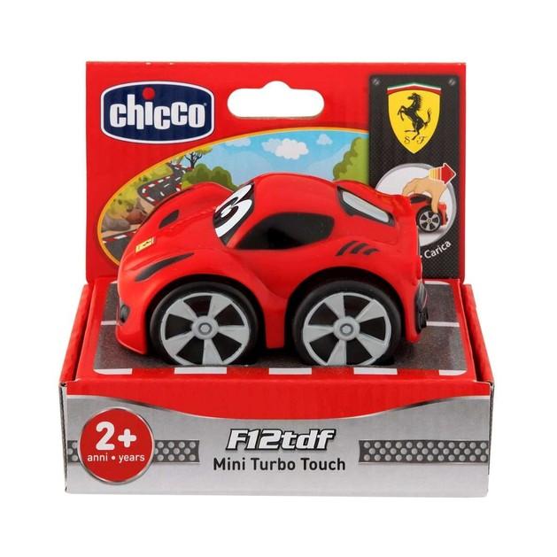 Chicco Mini Turbo Touch Ferrari F12Tdf Παιδικό Αυτοκινητάκι