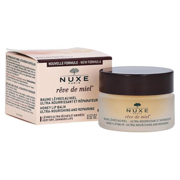 Δώρο Nuxe Reve De Miel Baume Levres - Θρέψη για Ξηρά και Σκασμένα Χείλη 15ml