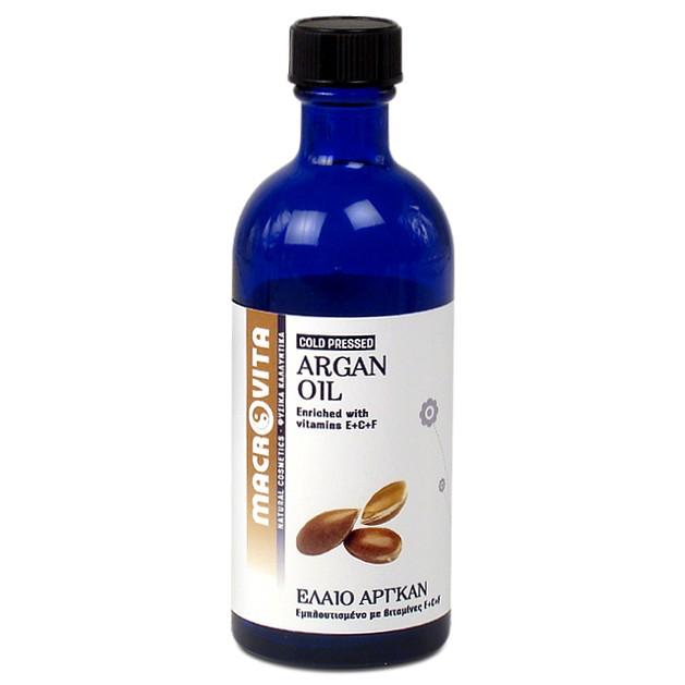 Macrovita Argan Oil with Vitamins E + C + F 100ml