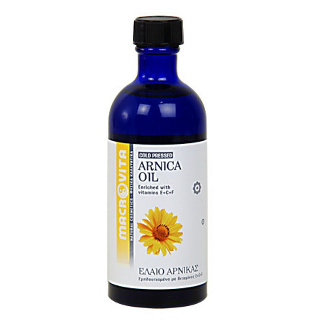 Macrovita Arnica Oil with Vitamins E + C + F 100ml