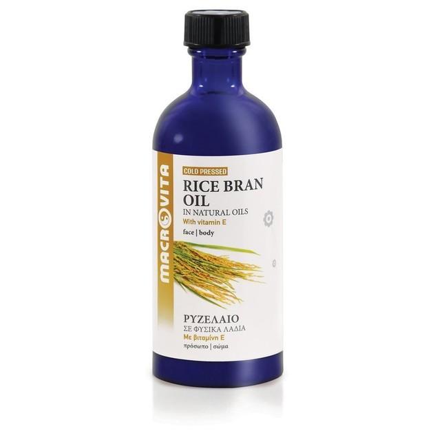 Macrovita Rice Bran Oil with Vitamins E + C + F 100ml