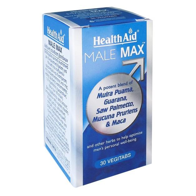 Health Aid Male Max 30veg.tabs