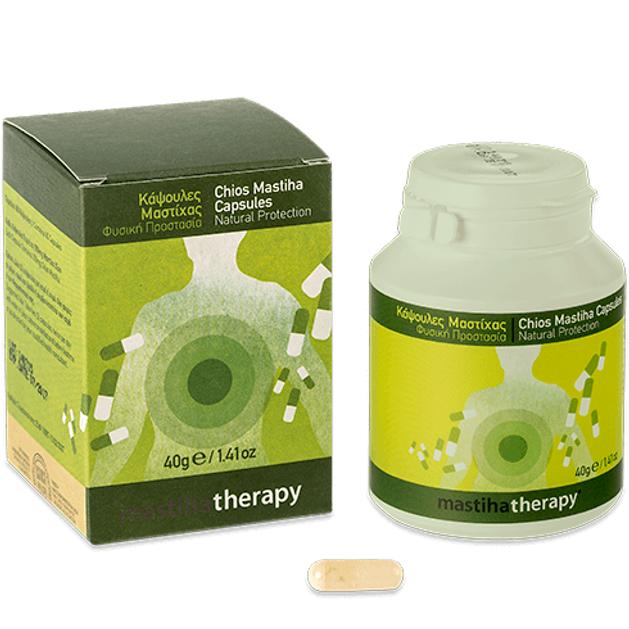 PharmaQ Mastiha Therapy100% Φυσική Μαστίχα Χίου σε Σκόνη 350mg 90caps