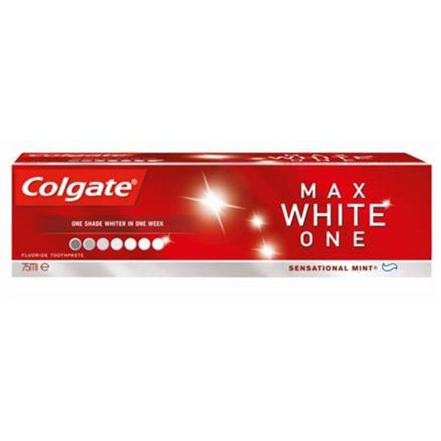 Colgate Max White One Ένας Τόνος Πιο Λευκά Δόντια Σε Μία Μόνο Εβδομάδα 75ml