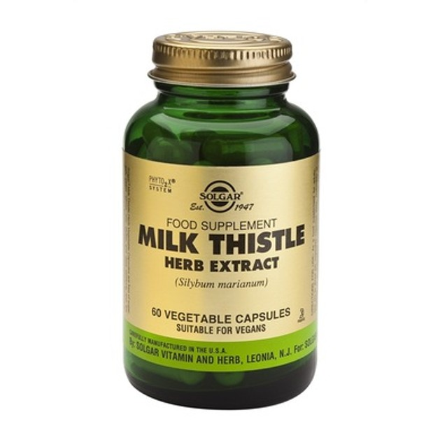 Solgar Sfp Milk Thistle Herb Extract 60 veg.caps