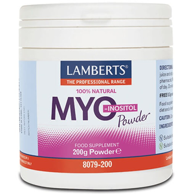 Lamberts Myo-Inositol Powder 200g