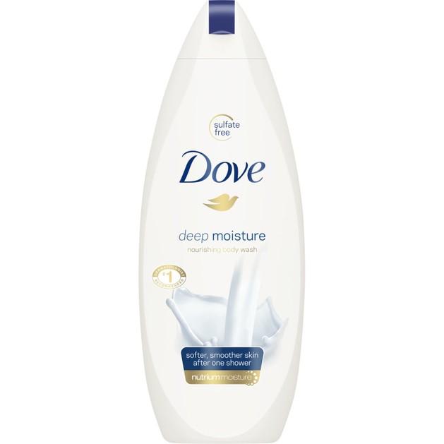 Dove Deeply Nourishing Body Wash Ενυδατικό Αφρόλουτρο για πιο Απαλό & Λείο Δέρμα, Μετά από Μόλις Ένα Ντους 500ml