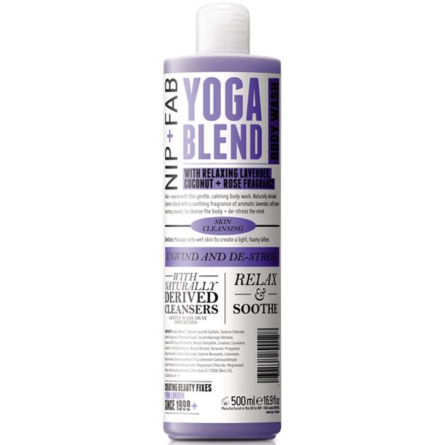 Nip + Fab Yoga Blend Body Wash Αφρώδες Προϊόν Καθαρισμού Σώματος 500ml