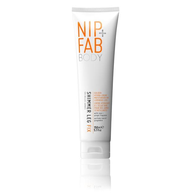 Nip + Fab Shimmer Leg Fix Απαλή Ενυδατική Κρέμα για τα Πόδια 150ml