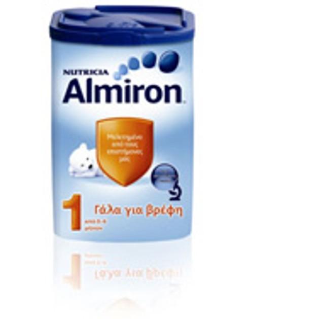 Nutricia Almiron 1 Για Υγιή Τελειόμηνα Βρέφη Από 0-6 Μηνών