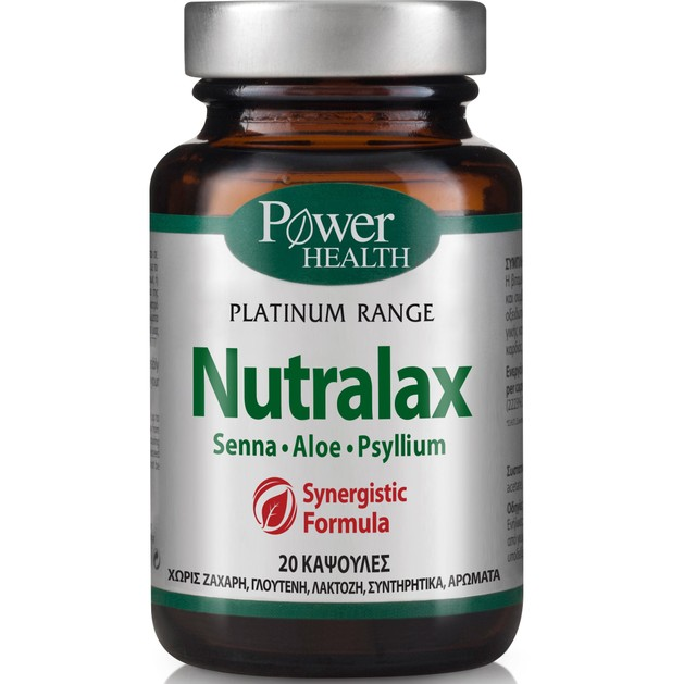 Power Health Platinum Nutralax 20caps