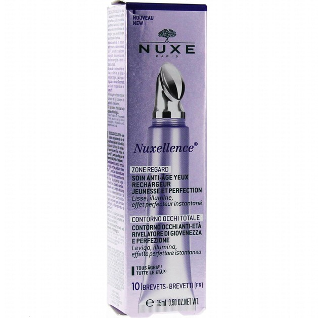 Nuxe Nuxellence Zone Regarde Soin Anti-Age Yeux 15ml