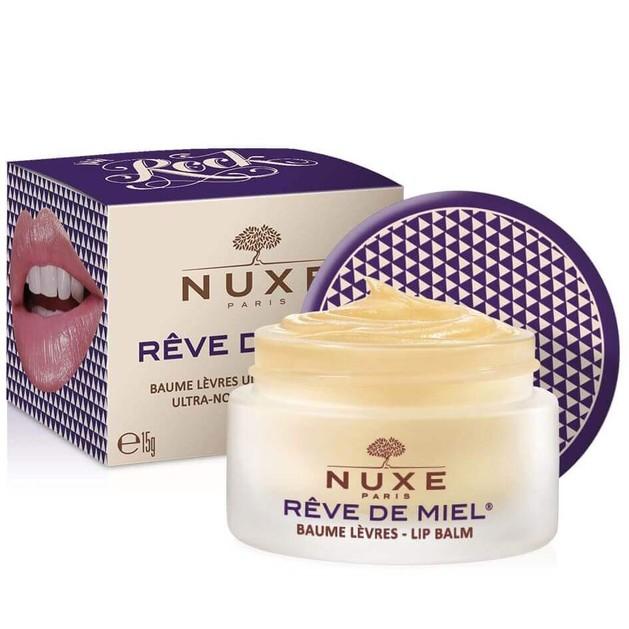 Δώρο Nuxe Reve De Miel Baume Levres Rock Θρεπτικό Βάλσαμο για Ξηρά & Σκασμένα Χείλη 15ml