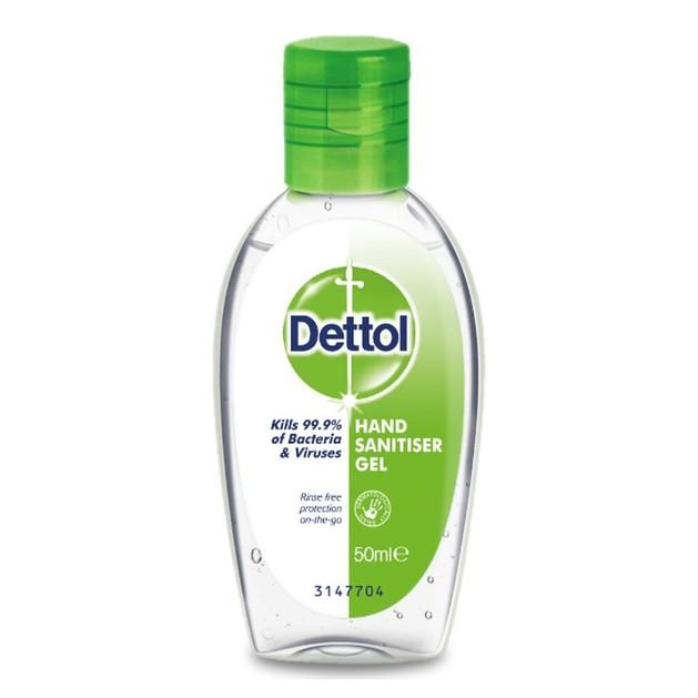 Dettol Sanitizer Gel Αντιμικροβιακό Gel για τα Χέρια 50ml