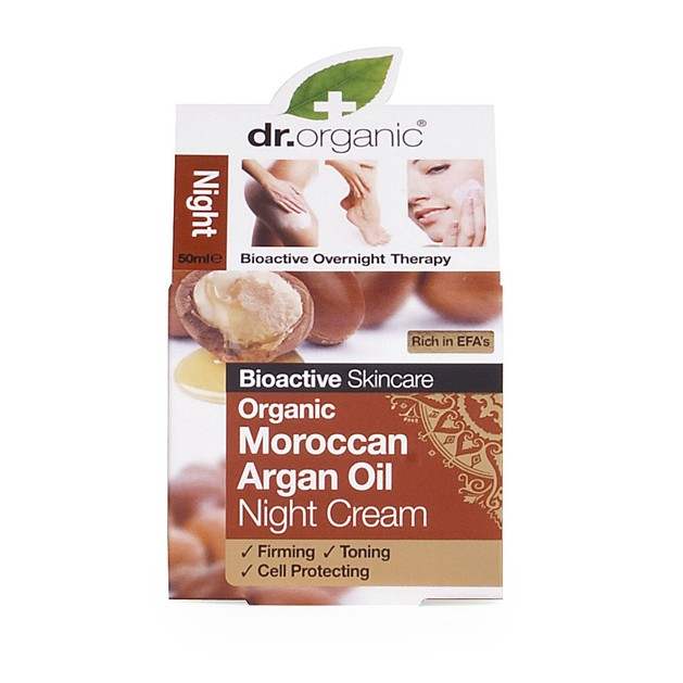 Dr.Organic Organic Moroccan Argan Oil Night Cream 50ml