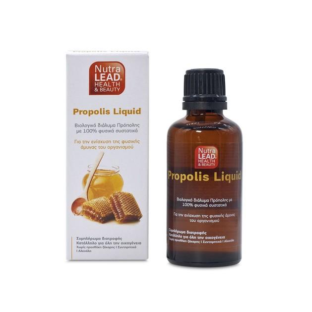 NutraLead Propolis Liquid Βιολογικό Διάλυμα Πρόπολης με 100% Φυσικά Συστατικά 50ml