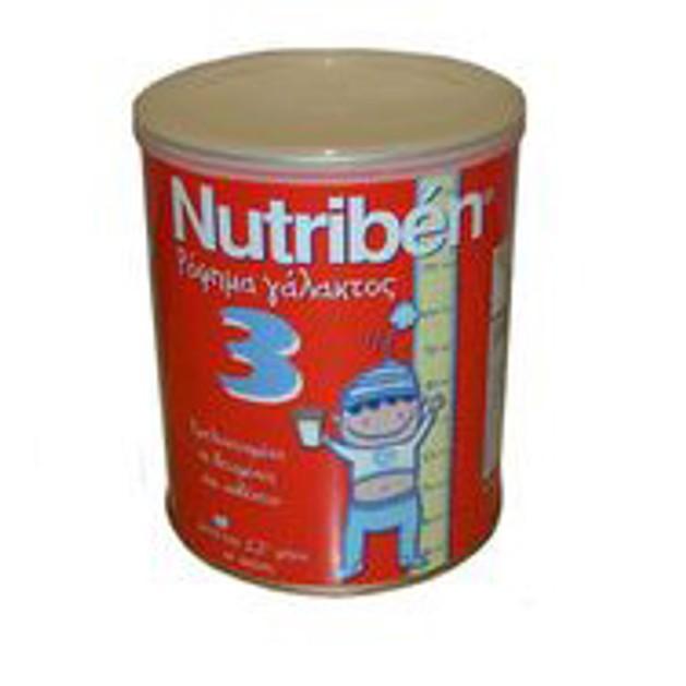 Nutriben 3 Ρόφημα Γάλακτος 400gr