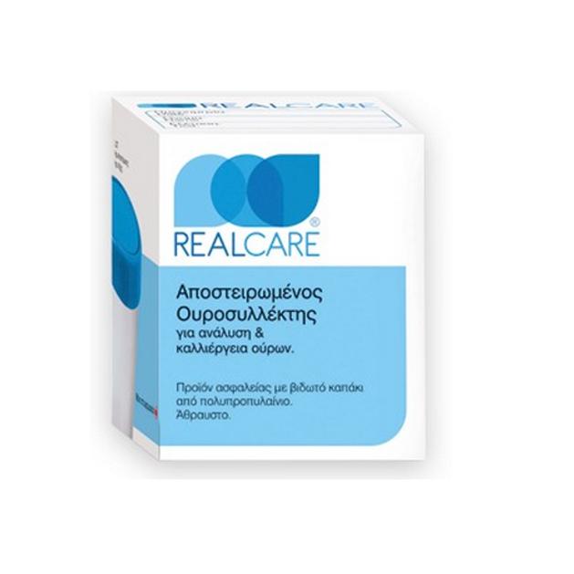 Real Care Ουροσυλλέκτης  Αποστειρωμμένος Για Ανάλυση Και Καλλιέργεια Ούρων 1 τμχ