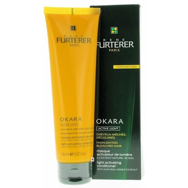 Rene Furterer Okara Masque Active Light  Μάσκα Ενεργοποίησης Χρώματος 150ml
