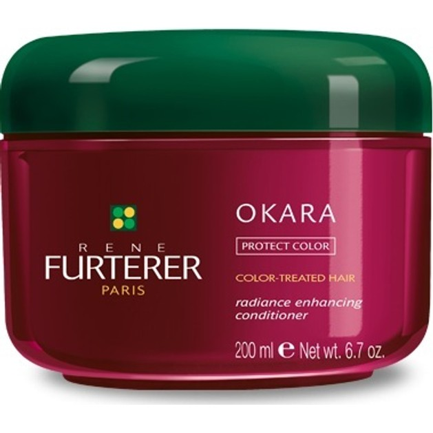 Rene Furterer Okara Protect Color Radiance Enhancing Conditioner Επανορθωτική Μάσκα Μαλλιών 200ml