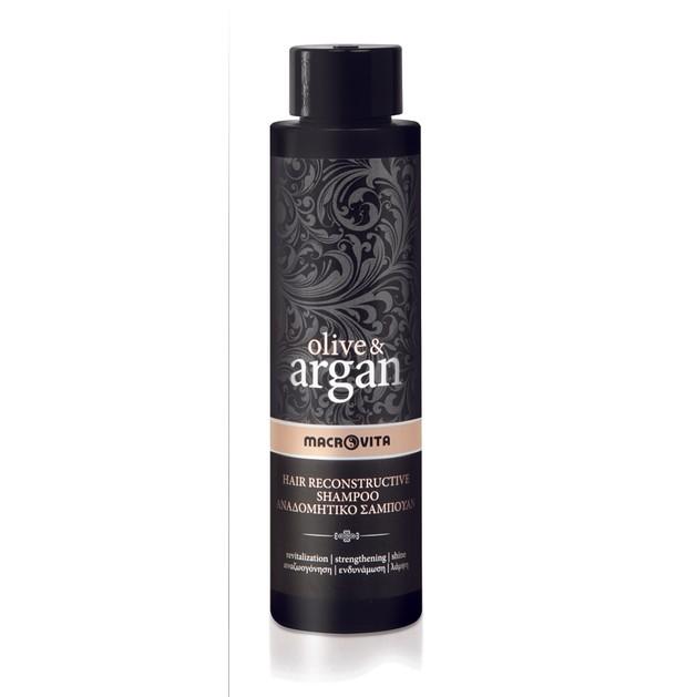 Macrovita Olive & Argan Hair Reconstructive Shampoo 200ml