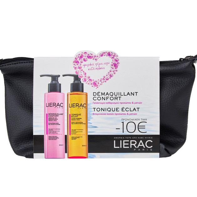 Lierac Πακέτο Προσφοράς Demaquillant Confort 200ml & Tonique Eclat 200ml