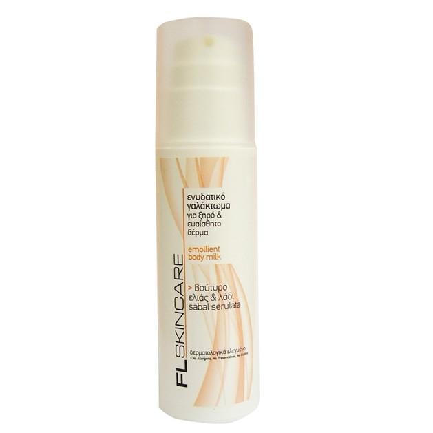 FL Products Emolient Body Milk Ενυδατικό Γαλάκτωμα Για Ξηρό & Ευαίσθητο Δέρμα 150ml
