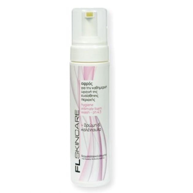 FL Products Hygiene Intimate Foam Αφρός Για Την Καθημερινή Υγεινή Της Ευαίσθητης Περιοχής PH 4.5 200ml
