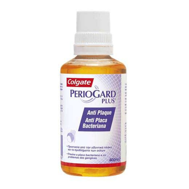 Colgate Periogard Plus  Διάλυμα Που Μειώνει Τα Παθογόνα Βακτήρια Που Είναι Υπεύθυνα Για Την Αιμορραγία Των Ούλων 400ml