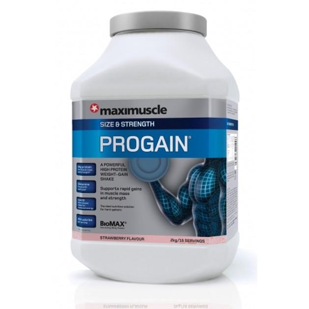 Maximuscle Progain Αύξηση Μυϊκής Μάζας Και Όγκου 2kg