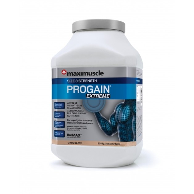 Maximuscle Progain Extreme  Αύξηση Βάρους Μυϊκής Μάζας Και Δύναμης 2.08kg