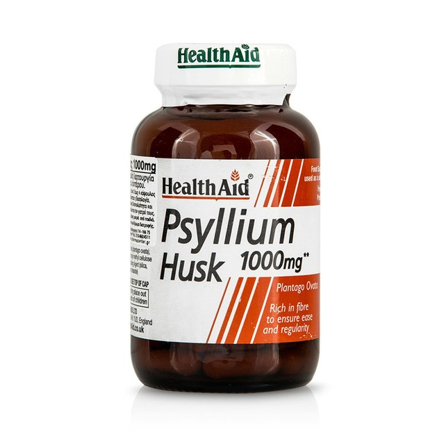 Health Aid Psyllium Husk 1000mg 60caps