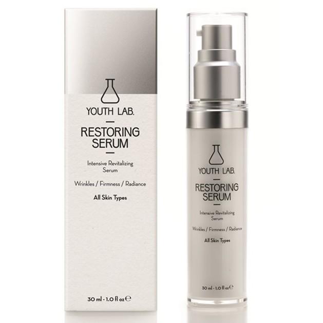 YOUTH LAB. Restoring Serum All Skin Types Ορός Εντατικής Αναδόμησης Αντιρυτιδικής-Συσφιγκτικής Δράσης 30ml