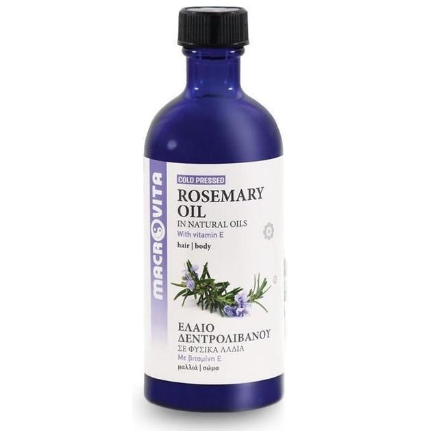 Macrovita Rosemary Oil with Vitamins E + C + F 100ml