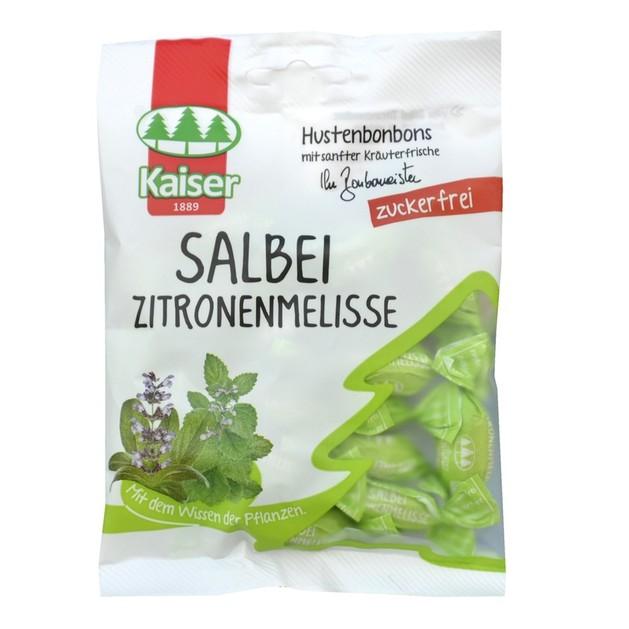 Kaiser Salbei Zitronenmelisse με Φασκόμηλο και Μελισσόχορτο Χωρίς Ζάχαρη 60gr