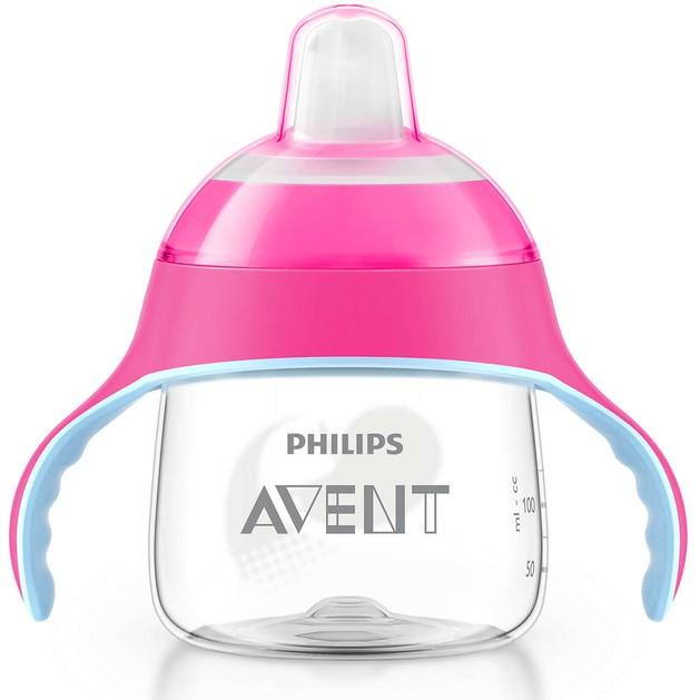 Avent Κύπελλο με Λαβές και Στόμιο Πλαστικό απο 6 Μηνών+  200ml 1τεμάχιο