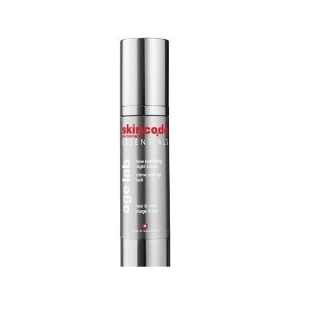 Skincode Time Rewinding Night Cream Προηγμένη Υφή Που Λειτουργεί Εντατικά Τη Νύχτα 50ml