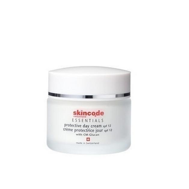 Skincode Protective Day Cream Spf12 Προστασία & Εντατική Ενυδάτωση Του Ευαίσθητου Δέρματος 50ml