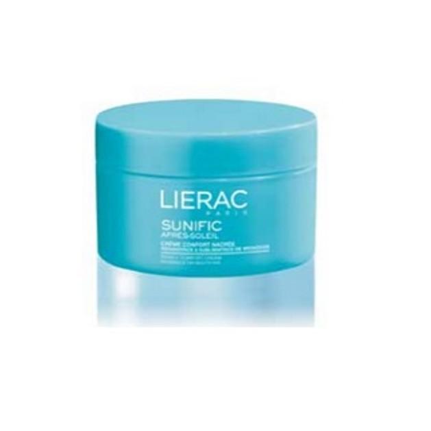Lierac Sunific Apres-Soleil Creme Confort Nacree Επανόρθωση & Ενίσχυση Του Μαυρίσματος 200ml