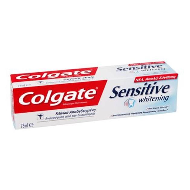 Colgate Sensitive Whitening Οδοντόκρεμα  75 ml